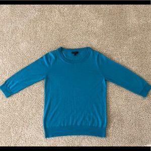 JCrew Tippi Turquoise Sweater